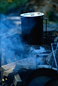 A Kettle on the Grill; Smoke