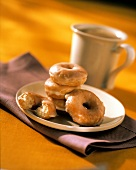 Sugar Glazed Donuts For Coffee Break