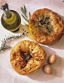 Focaccia with Herbs and Oil