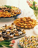 Assorted Petits Fours and Pastries