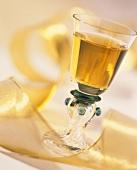 Liqueur in a Cordial Glass