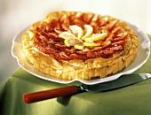 Strawberry Tart with Lemon Slices