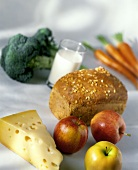 Assorted Foods Still Life