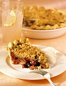 A Slice of Cranberry Apple Pie; Crumb Topping
