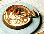 Marble Swirl Cheesecake