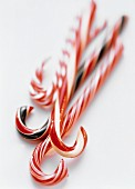 Many Assorted Candy Canes