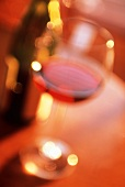 A Glass of Red Wine; Soft Focus