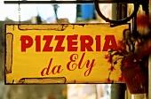 Pizzeria Sign; Italy