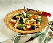 Broccoli Carrot and Jicama Salad