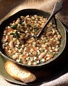 Fagiolata (Bohnensuppe mit Nudeln, Italien)