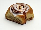 A Single Cinnamon Bun