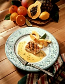 Monkfish in Citrus Sauce