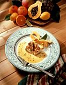 Monkfish in Citrus Sauce