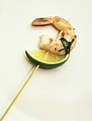 Shrimp Appetizer with Lime