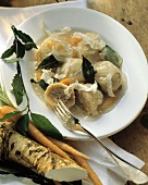 Gefilte Fish with Horseradish