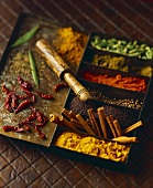 Still Life of Assorted Exotic Spices
