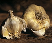 Two Garlic Bulbs; Garlic Clove
