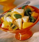 3Kiwi Pineapple and Mango Fruit Salad
