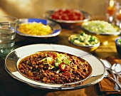 Ground Beef Chili with Red Beans