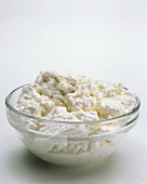 A Bowl of Fresh Ricotta Cheese