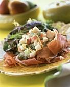 Waldorf Salad with Prosciutto