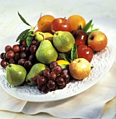 Bowl of Assorted Fruit