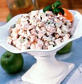 Chicken Apple and Walnut Salad