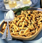 Fusilli ai pomodori secchi (Pasta with dried tomatoes)