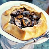 Brown Mushroom Tart