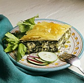 Spanakopita (Spinach and sheep's cheese pie, Greece)