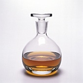 Cognac in a Decanter
