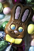 Chocolate Easter Bunny Lollipop