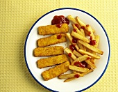 Fish Sticks and Fries