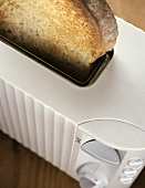 Toast Slice in Toaster
