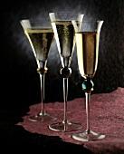 .Three Glasses of Champagne