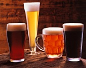 Four Types of Beer
