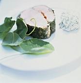 Herb Rubbed Salmon Steak
