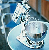 A Stainless Steel Mixer