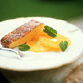 A Slice of Orange Cake