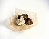 Milk and White Chocolate Chunks