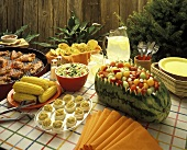 Summer Barbecue Buffet