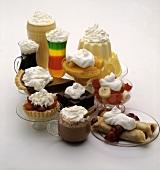 Many Different Desserts