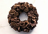 A Chocolate Wreath