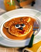 Bear Face Pancake