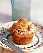 Low Fat Apple Walnut Muffin
