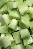 Pieces of Honeydew Melon