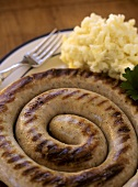 Cumberland Sausage with Mashed Potato