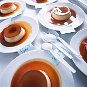 Creme Caramel Made in Different Ways