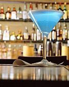 Blue Curacao Martini