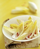 Endive and Pomegranate Seeds